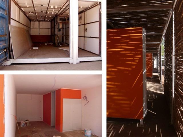 Soudan salam center logement pour personnel hospitalier for Habiter container