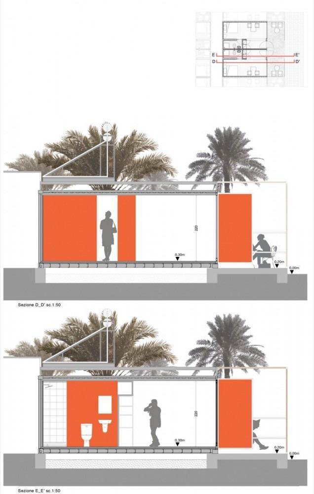 soudan-salam-center-logement-pour-personnel-hospitalier-en-container-par-tam-associatti -6