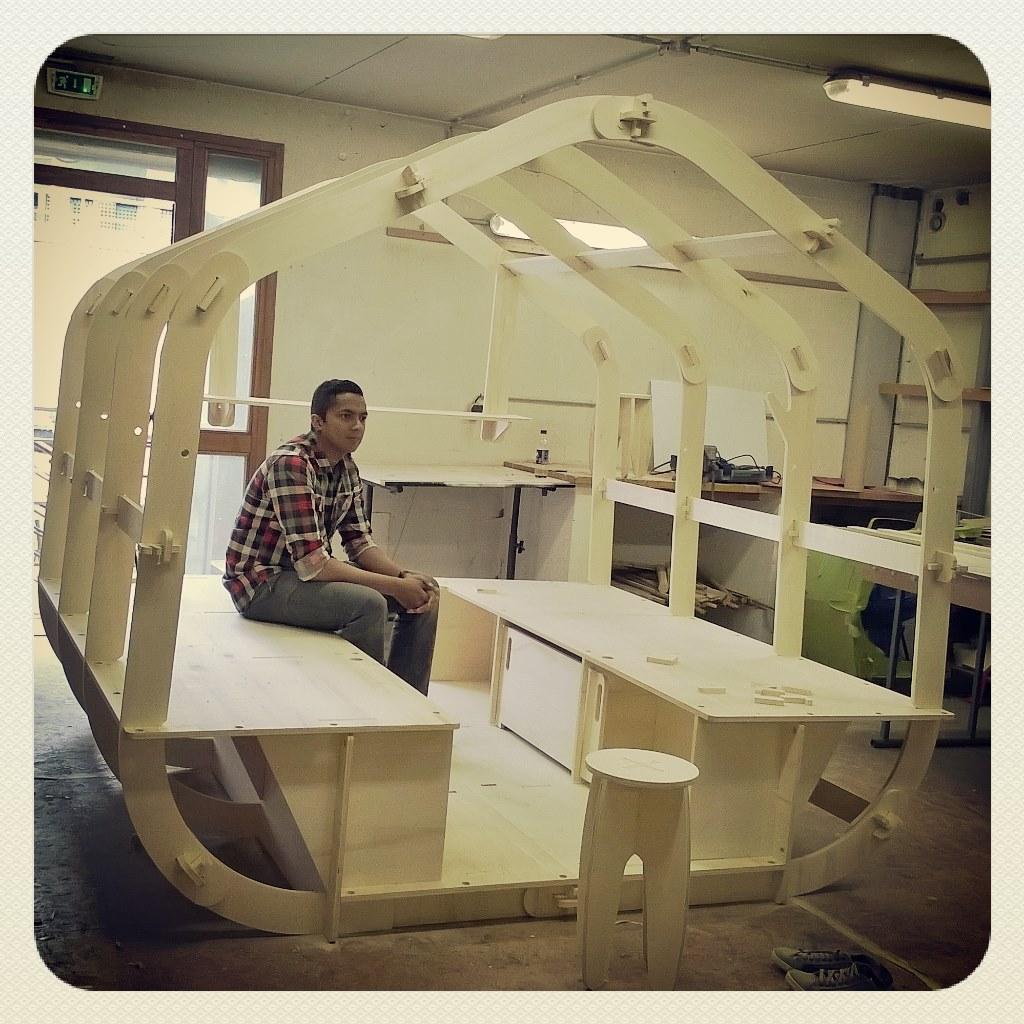 houzzle module d habitat ph m re assembl sans clous ni. Black Bedroom Furniture Sets. Home Design Ideas