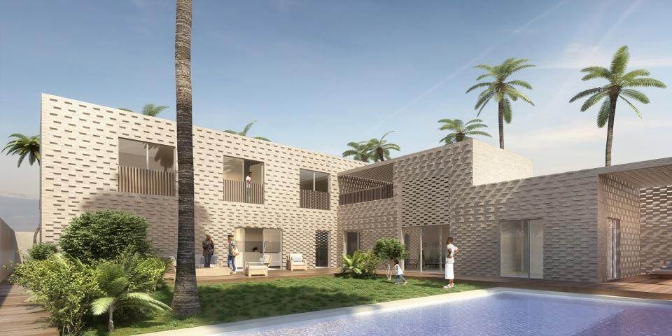 construction d une maison en briques de terre cuite ouagadougou par agn s agn s archicaine. Black Bedroom Furniture Sets. Home Design Ideas