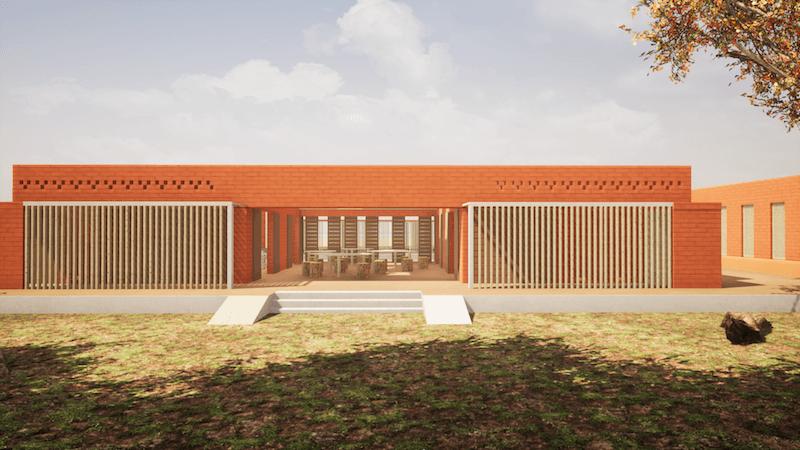 Architecture en terre archicaine for Construire le belem
